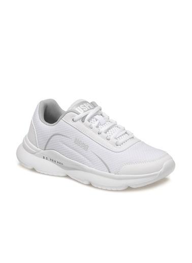 U.S. Polo Assn. Marula Wmn Kadın Sneaker Beyaz